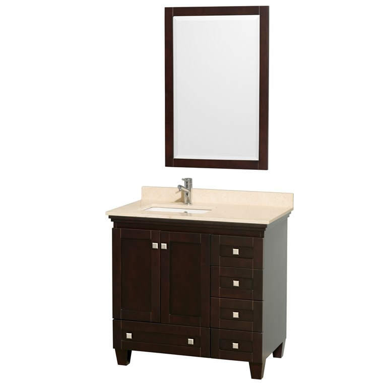 Acclaim 36 in. Single Bathroom Vanity - Espresso WC-CG8000-36-SGL-VAN-ESP-