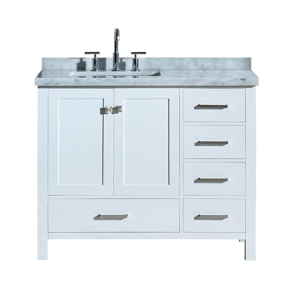 48 Inch Bathroom Vanity With Left Offset Sink - Image of ...
