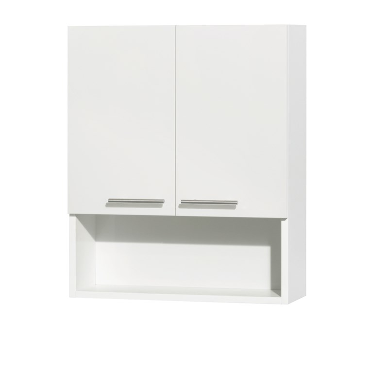 Amare Bathroom Wall Cabinet by Wyndham Collection - Glossy White WC-RYV207-WC-WHT