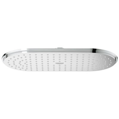 Grohe Rainshower Veris Shower Head - Starlight Chrome GRO 27837000