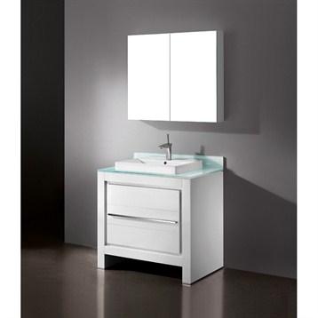 "Madeli Vicenza 36"" Bathroom Vanity, Glossy White B999-36-001-GW by Madeli"