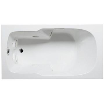 """Americh Halina 7236 Whisper Bathtub, 72"""" x 36"""" x 23"""" HL7236W by Americh"""