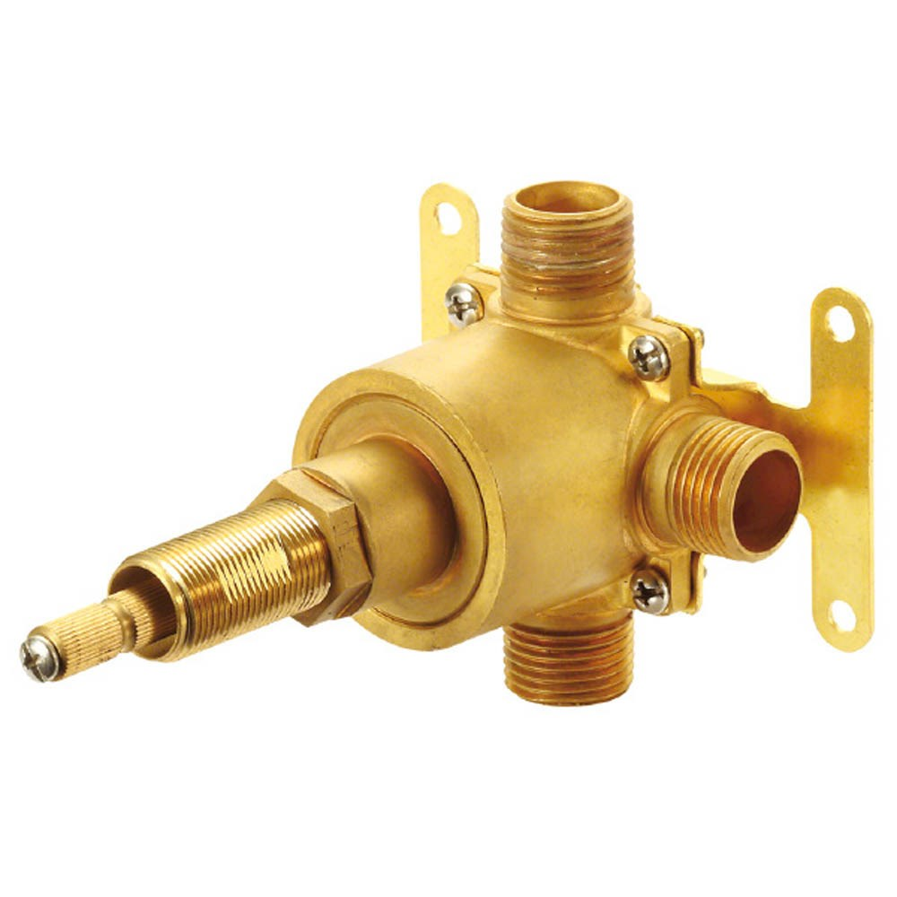 "Danze 1H 3-Port/2-Outlet Diverter Valve 1/2"" IPS/Copper Sweat Ports 4 Position Valve (Pause-A-AB-B)nohtin"