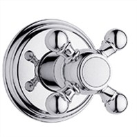 Grohe Geneva Trim Volume Control with Cross Handle - Starlight Chrome