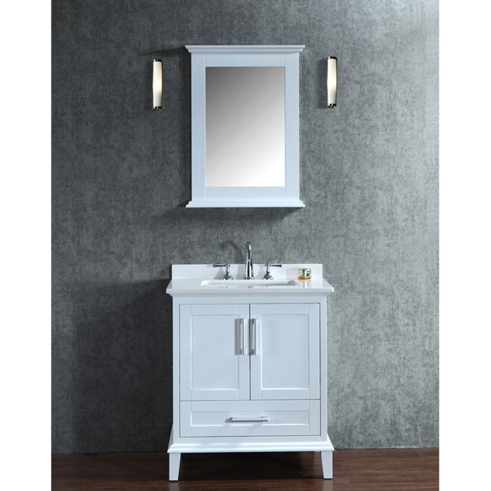 Seacliff By Ariel Nantucket 30 Quot Single Sink Vanity Set