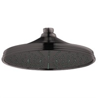 Grohe Rainshower Retro Shower Head - Oil Rubbed Bronze