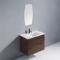 "Vigo 32"" Espresso Mayan Single Bathroom Vanity with Mirror - Ebony VG09038109K"