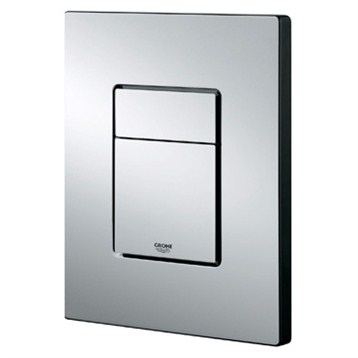 Grohe Skate Cosmopolitan Actuation Plate, Alpine White by GROHE