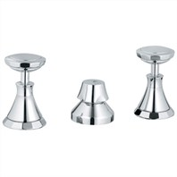 Grohe Kensington Wideset Bidet Faucet - Starlight Chrome