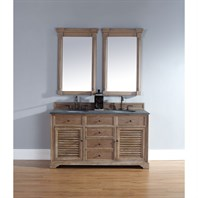 "James Martin 60"" Savannah Double Vanity - Driftwood 238-104-5611"