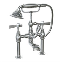 JADO Savina Deck Mount Tub Filler with Hand Shower - Lever Handle 845538