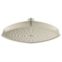 Grohe Rainshower Grandera 210 Head Shower - Brushed Nickel GRO 27976EN0