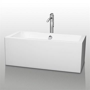 """Melody 60"""" Soaking Bathtub by Wyndham Collection WC-BT1011-60 by Wyndham Collection®"""