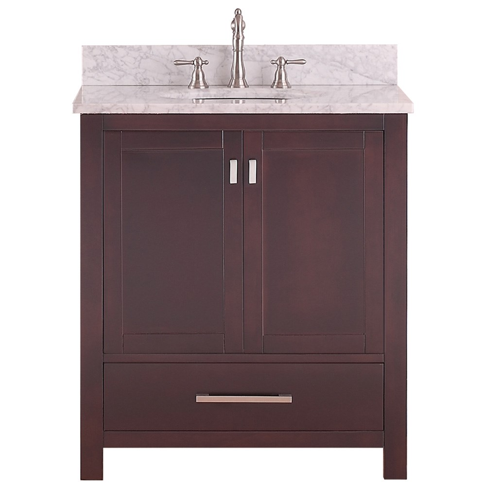 "Avanity Modero 30"" Single Bathroom Vanity - Espressonohtin Sale $714.00 SKU: MODERO-30-ES :"