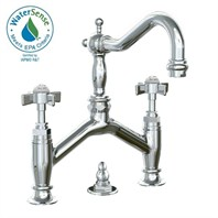 JADO Savina Bridge Style Lavatory Faucet - Cross Handle 845102