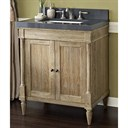 "Fairmont Designs Rustic Chic 30"" Vanity - Weathered Oak 142-V30"