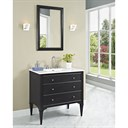 "Fairmont Designs Charlottesville 36"" Vanity for Integrated Sinktop - Vintage Black 1511-V36-"