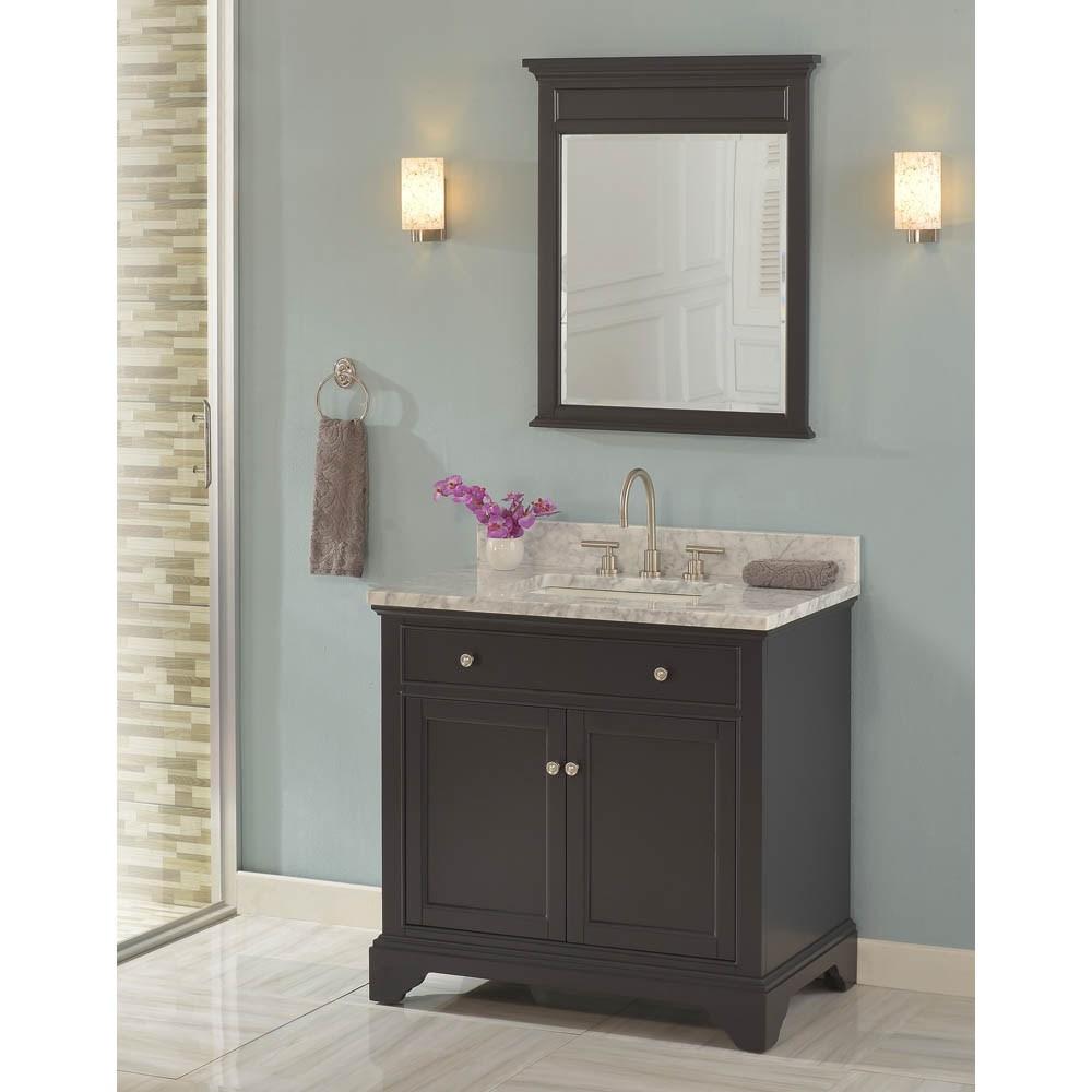 "Fairmont Designs Framingham 36"" Vanity - Obsidiannohtin Sale $975.00 SKU: 1508-V36 :"