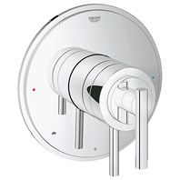 Grohe Atrio Dual Function Pressure Balance Trim with Control Module - Starlight Chrome GRO 19867000