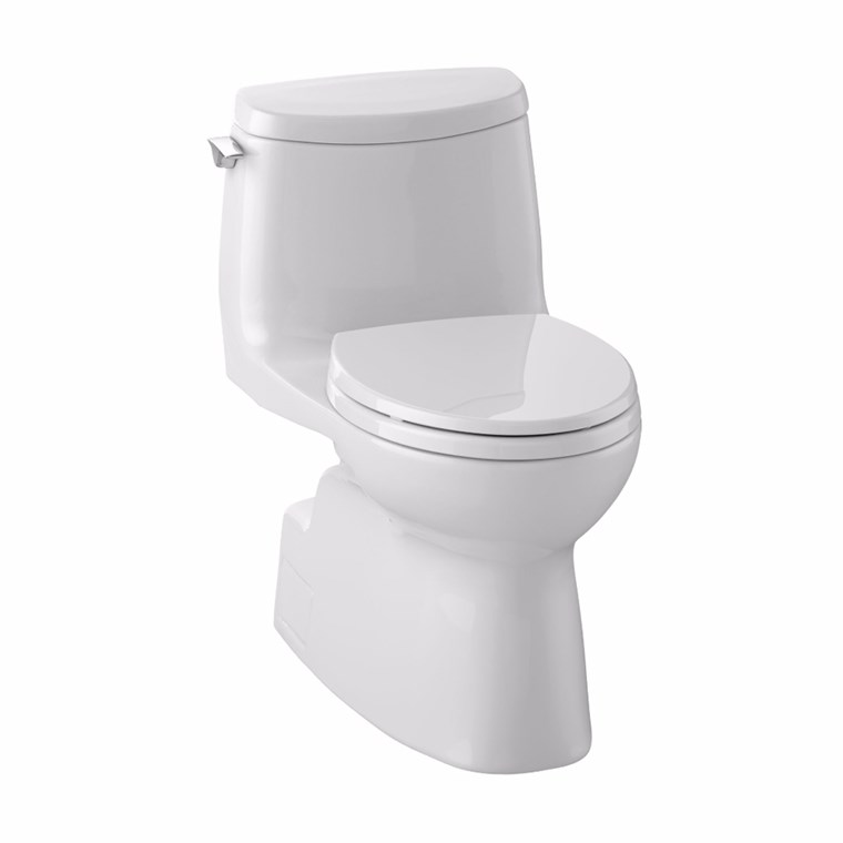 TOTO Carlyle® II 1G One-Piece Toilet with Elongated Bowl, 1.0 GPF - Seat Included MS614114CUFG.01