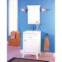 "Fairmont Designs 21"" Lifestyle Collection Shaker Vanity - Polar White 185-V21"