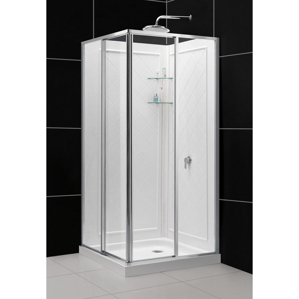 Bath Authority DreamLine Cornerview Framed Sliding Shower Enclosure ...
