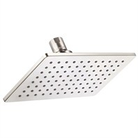 "Danze Mono Chic 5"" by 8"" Rectangular Showerhead 2.5 GPM - Brushed Nickel D460060BN"