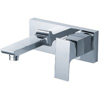 fluid Jovian Single Lever Wall Mount Lavatory Tap F21007