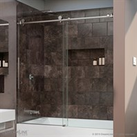 "Bath Authority DreamLine Enigma-X Sliding Tub Door (56""-59"") SHDR-61606210"