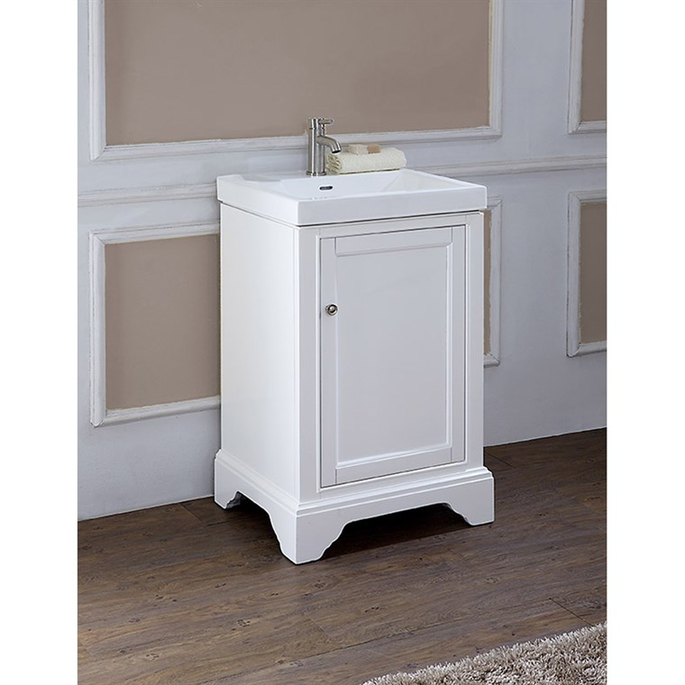 "Fairmont Designs Framingham 21"" Vanity - Polar White 1502-V2118"