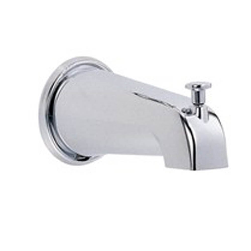 "Danze 8"" Wall Mount Tub Spout with Diverter - Chromenohtin Sale $42.00 SKU: D606425 :"
