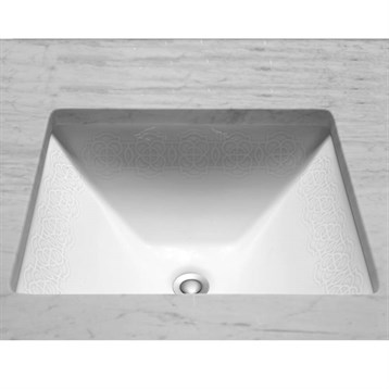 Toto Waza Sultana Undercounter Lavatory, 17x15 LT624.01-NB by Toto