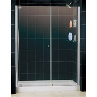 "Bath Authority DreamLine Elegance Shower Door (52 3/4"" - 54 3/4"")"