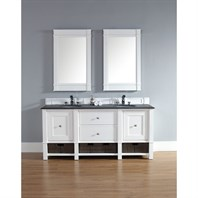 "James Martin 72"" Madison Double Vanity - Cottage White 800-V72-CWH"