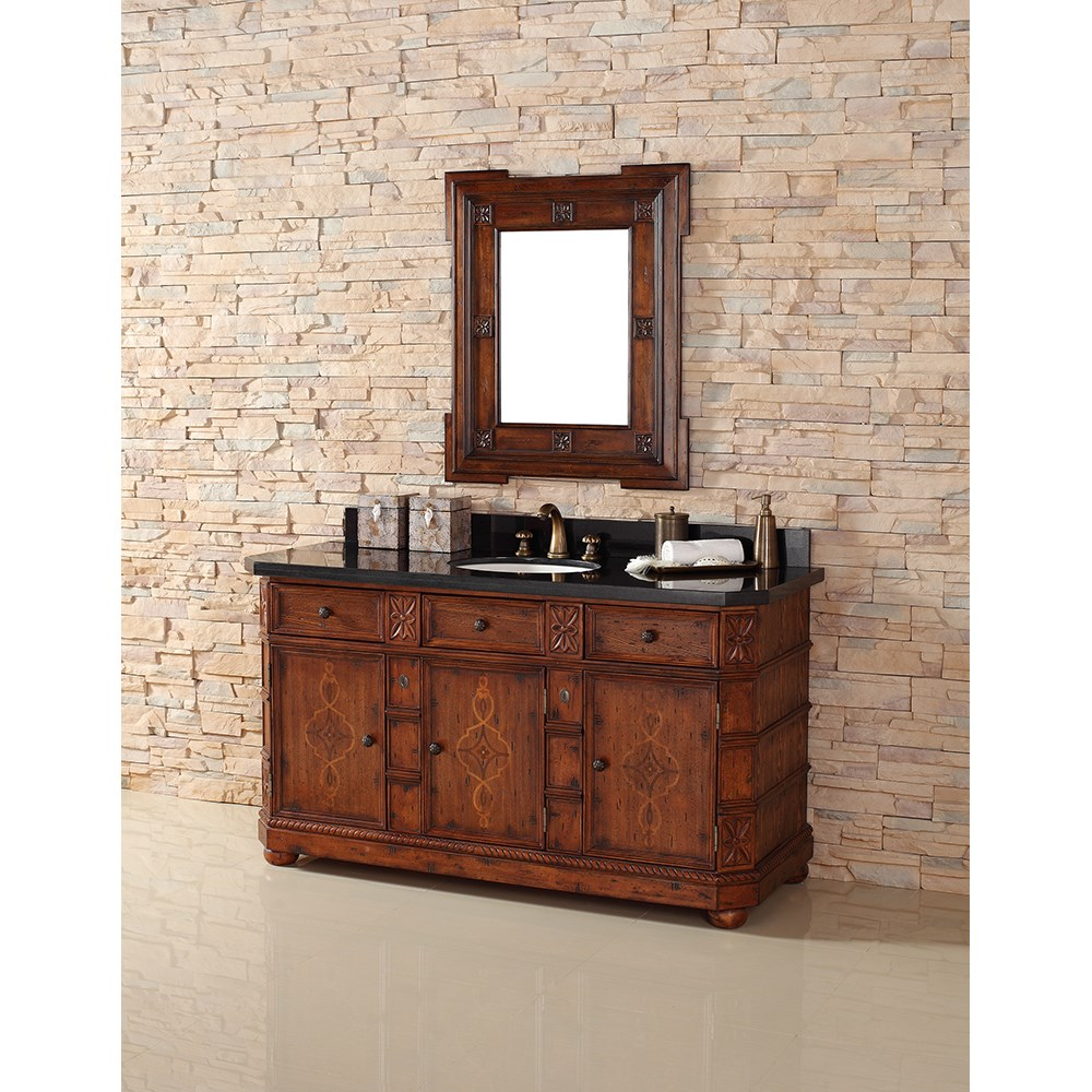"James Martin 60"" Charleston Single Vanity - Burnished Ashnohtin Sale $1895.00 SKU: 400-V60S-BNA :"