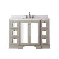 "Avanity Newport 48"" Single Bathroom Vanity - French Gray NEWPORT-48-FG"