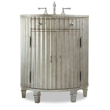 """Cole & Co. 30"""" Designer Series Collection Kinkaid Vanity, Antiqued Platinum 11.22.275530.26 by Cole & Co."""