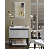 "Fairmont Designs M4 36"" Vanity for Integrated Sinktop - Glossy White 1525-V36-"