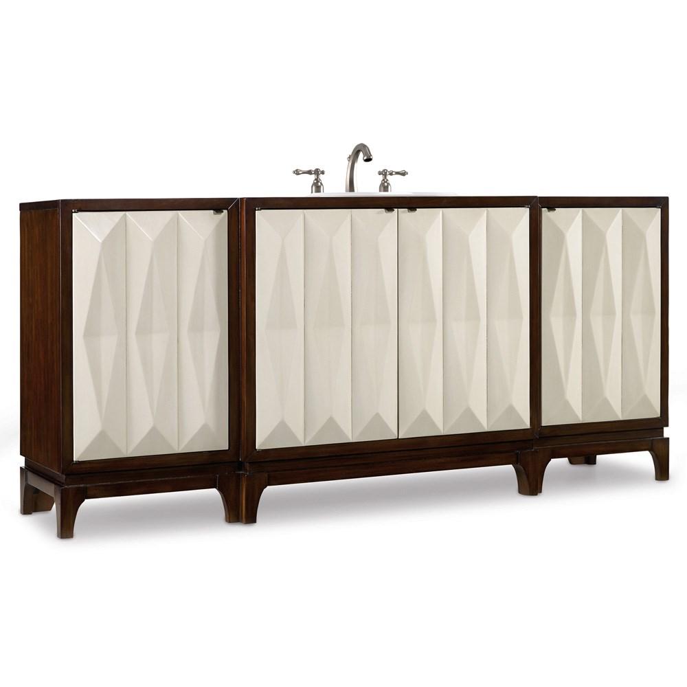 "Cole & Co. 78"" Designer Series Slaton Vanity Chest - Deep Chestnutnohtin Sale $5617.50 SKU: 11.22.275578.27 :"