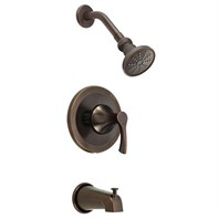 Danze Antioch Trim Only Single Handle Tub & Shower Faucet - Tumbled Bronzel D500022BRT