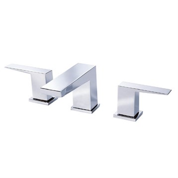 Danze Mid-Town 2H Widespread Lavatory Faucet w/ Metal Touch Down Drain 1.2gpm, Chrome D304162 by Danze