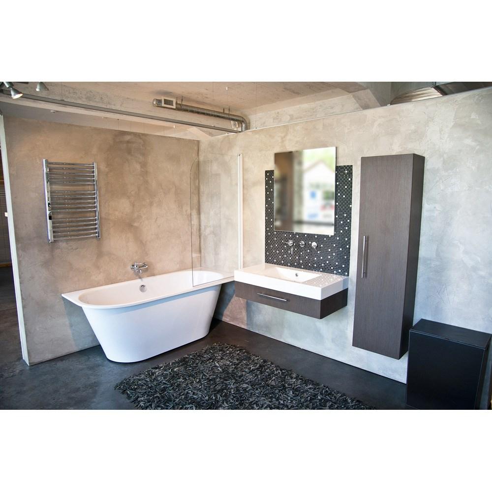 Aquatica Inflection B-L-Wht Large Corner Cast Stone Bathtub - High Gloss Whitenohtin Sale $2898.00 SKU: Aquatica Infl-B-L-Wht :