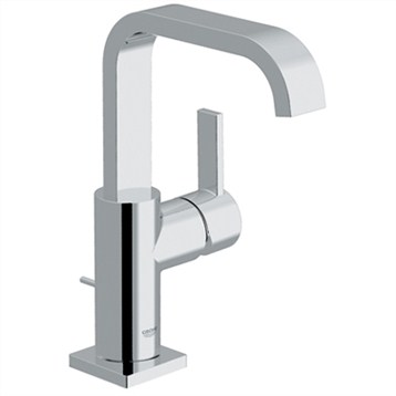 Grohe Allure Single Lever Lavatory Centerset, Starlight Chrome by GROHE