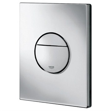 Grohe Nova Cosmopolitan Actuation Plate, Alpine White by GROHE