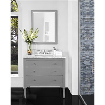 Fairmont Designs Charlottesville 36 Vanity Light Gray Free Shipping Modern Bathroom