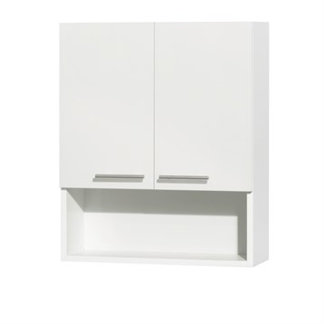 Amare Bathroom Wall Cabinet by Wyndham Collection, Glossy White WC-RYV207-WC-WHT by Wyndham Collection®