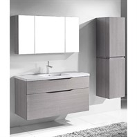 "Madeli Bolano 48"" Single Bathroom Vanity for Integrated Basin - Ash Grey B100-48C-022-AG"