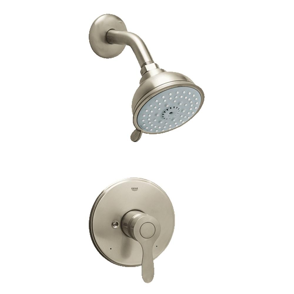 Grohe Parkfield Pressure Balance Valve Shower Combination - Brushed Nickelnohtin Sale $200.99 SKU: GRO 35039EN0 :