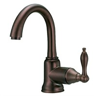 Danze® Fairmont™ Single Handle Lavatory Faucet - Tumbled Bronze D222540BR