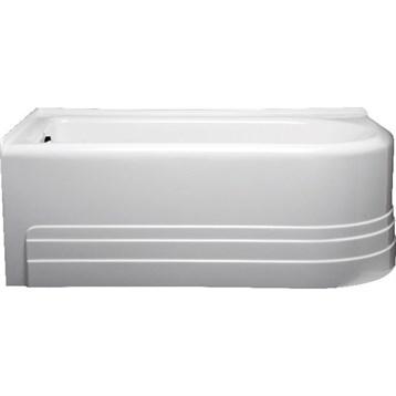 "Americh Bow 6032 Left Handed Tub, 60"" x 32"" x 21"" BO6032L by Americh"